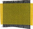 Smooth, soft, two-tone, hand woven, gold, yellow, golden yellow, dark gray, grey pure Thai Silk